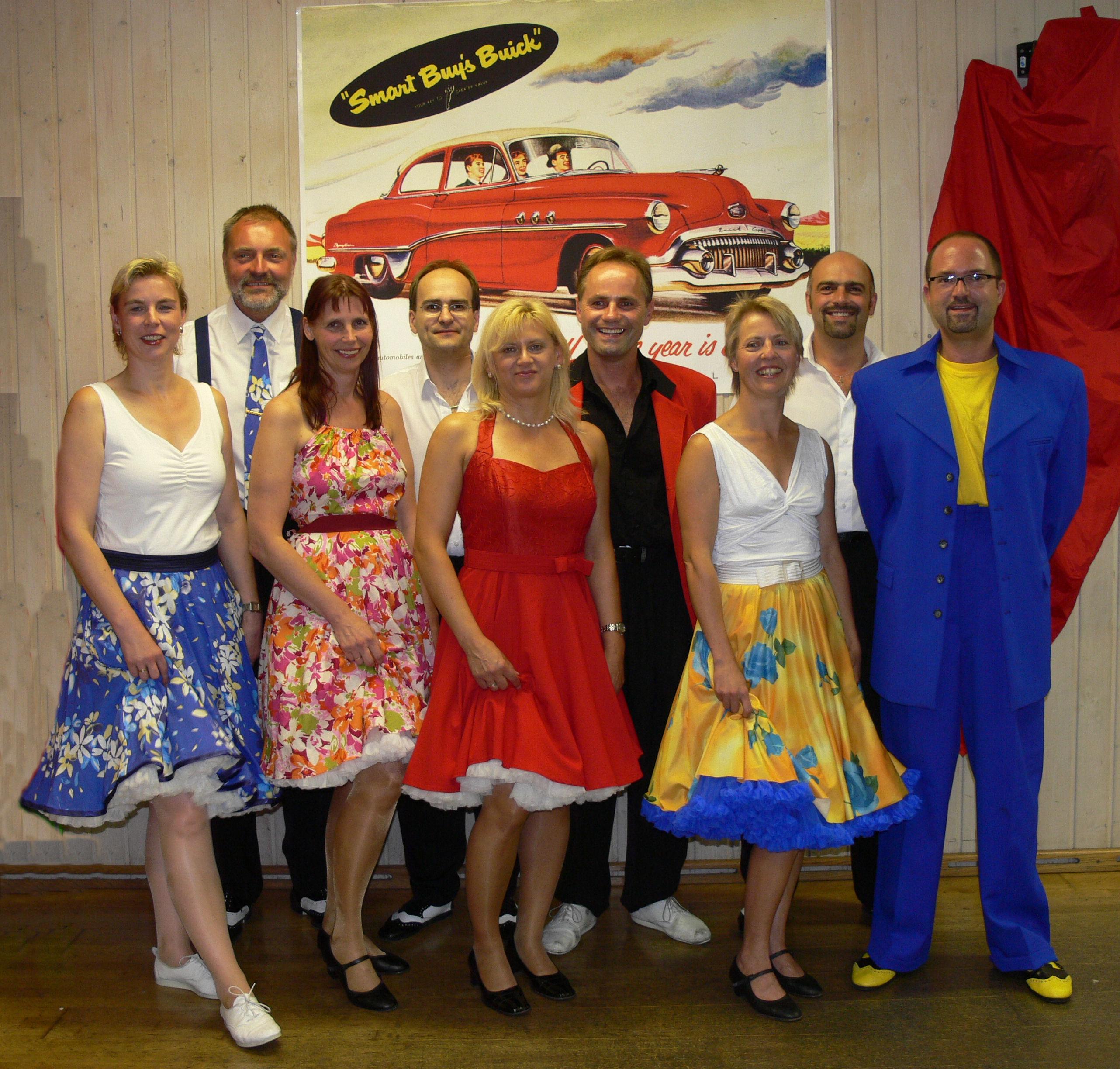 Showgruppe Peppermint